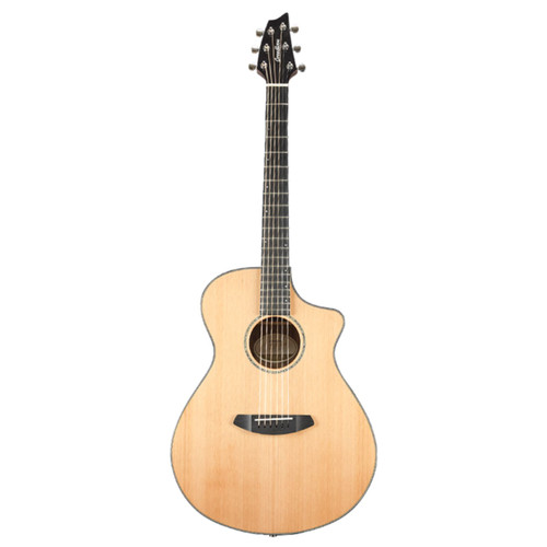 Breedlove Solo Concert CE Red Cedar Acoustic Electric Guitar, Natural