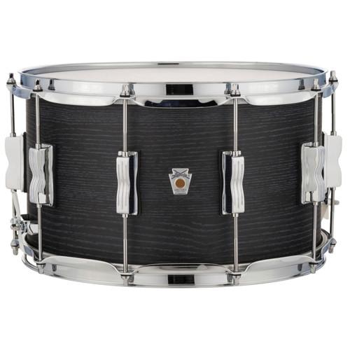 "Ludwig LKS784XX3D 8""x 14"" Standard Maple Snare Drum, Black Shadow"