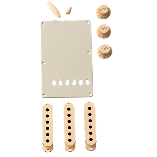 Fender Stratocaster Electric Guitar Accessory Kit, Aged White