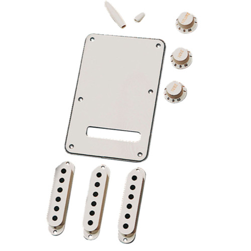 Fender Stratocaster Electric Guitar Accessory Kit, Parchment