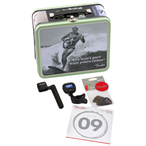 Fender Collectible Lunchbox with Guitar Accessories, You Won't Part With Yours Either