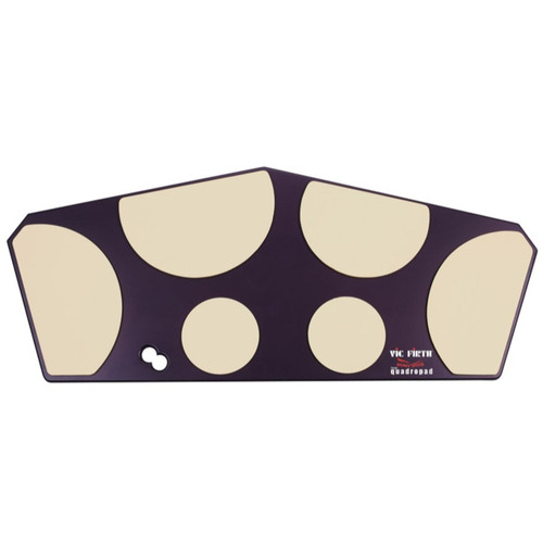 Vic Firth HHPQL Heavy Hitter Quadropad Marching Tenor Drum Practice Pad, Large