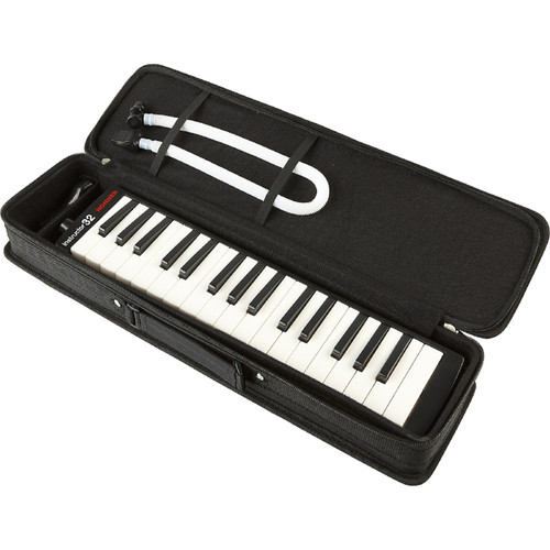 Hohner 32B Piano Style 32-Key Melodica with Carrying Case, Black (32B)