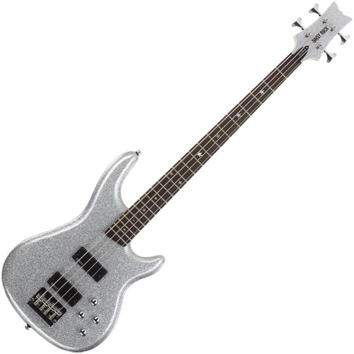 Daisy Rock DR6772 Rock Candy 4-String Electric Bass Guitar, Diamond Sparkle