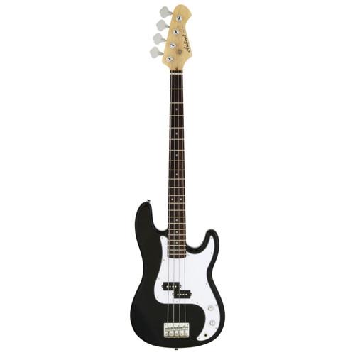 Aria Pro II STB-PB 4-String Precision Style Electric Bass Guitar, Black