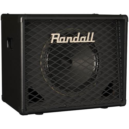 """Randall RD112-V30 Diavlo Series 1x12"""" Angled Guitar Speaker Cabinet, Black"""