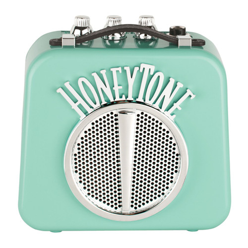 Danelectro HoneyTone  N-10 Mini Guitar Amplifier, Aqua