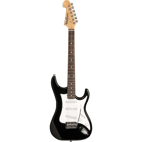 Washburn Sonamaster S1 Solid Body Double Cut Electric Guitar, Black