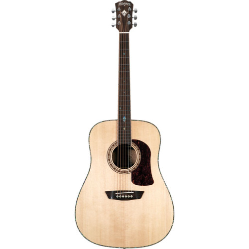 Washburn Heritage Elite HD80 Dreadnought Acoustic Guitar, Natural