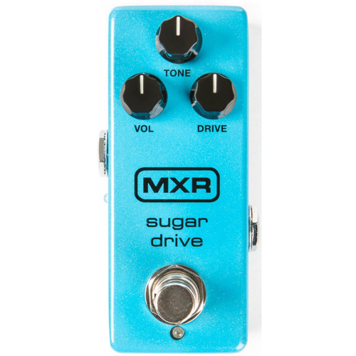 Dunlop MXR M294 Sugar Drive Overdrive Guitar Effects Pedal (M294)