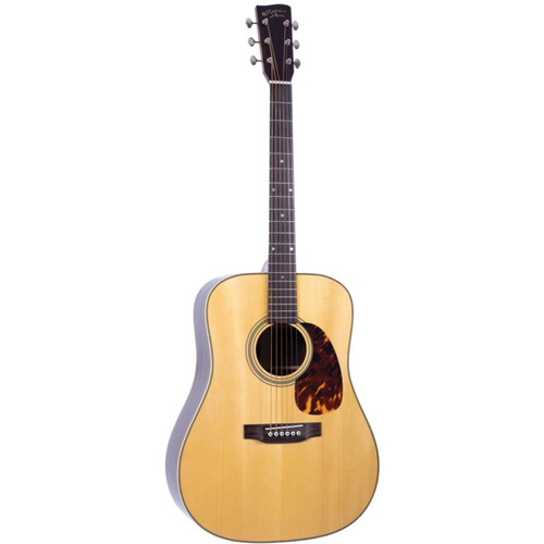 Recording King RD-328 All Solid Dreadnought Acoustic Guitar, Aged Adirondack Top (RD-328)