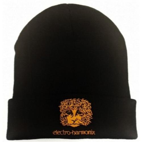 EHX Electro-Harmonix Ram's Head Logo Beanie, Black (EHX-BEANIE)