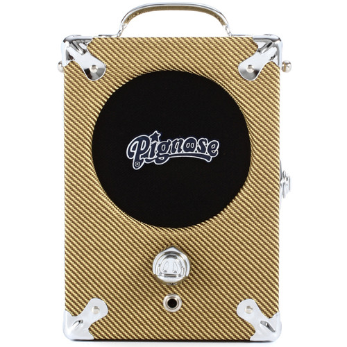 Pignose 7-100TW Tweed Special Edition Portable Guitar Amplifier w/ Power Supply