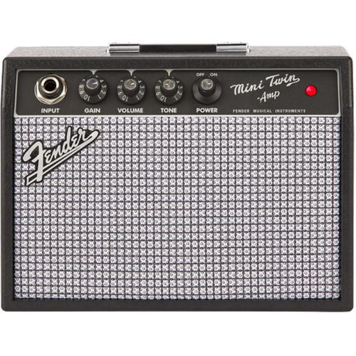 Fender Mini '65 Twin Amp Portable Guitar Amplifier, 0234812000
