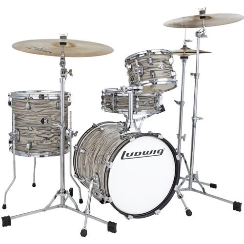 Ludwig LC179XX017 Breakbeats by Questlove 4-Piece Drum Shell Pack, Sahara Swirl (LC179XX017)