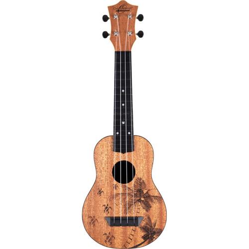 Oscar Schmidt Nature Series Turtle 4-String Soprano Ukulele (OUNTURTLE)