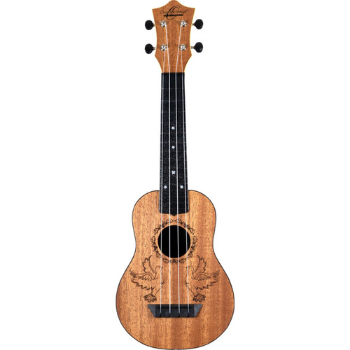 Oscar Schmidt Nature Series Dove 4-String Soprano Ukulele (OUNDOVE)