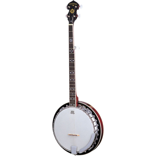 Oscar Schmidt OB5 Left-Handed 5-String Banjo, Remo Head, Mahogany Resonator (OB5LH)