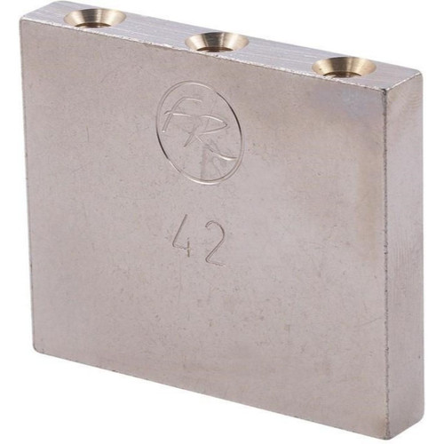 Floyd Rose FROTB42P Original Series 42mm Sustain Block, Nickel Plated Brass (FROTB42P)