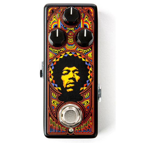 Dunlop JHW4 Jimi Hendrix 69 Psych Band of Gypsys Fuzz Mini Effects Pedal (JHW4)
