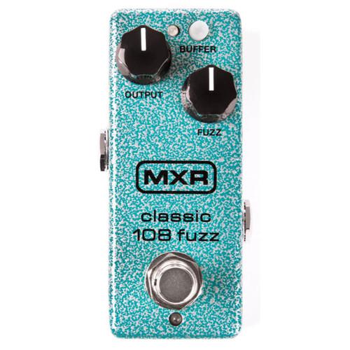 Dunlop MXR M296 Classic 108 Fuzz Mini Effects Pedal (MXR-M296)