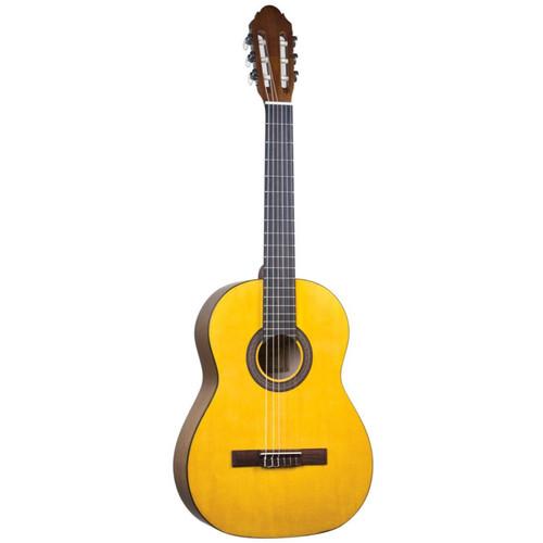 Lucida LG-400 Student Classical Nylon String Acoustic Guitar, Matte Natural (LG-400-NA)