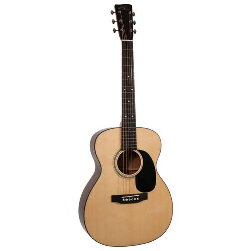 Recording King RO-318 Solid Mahogany 000-Body Acoustic Guitar, Aged Adirondack Top (RO-318)