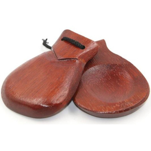 GP Percussion GPWC8 Wood Finger Castanet Set (GPWC8)