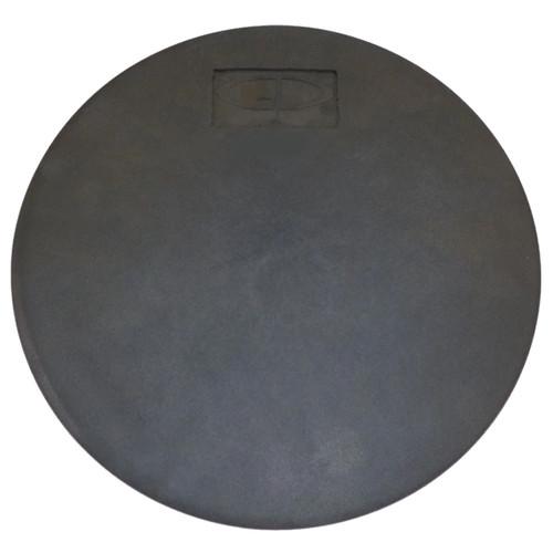 """GP Percussion SPD15 14"""" Snare Drum Practice Pad, Black (SPD15)"""