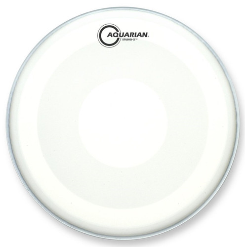 "Aquarian TCSXPD16 Studio-X Texture Coated Drumhead with PowerDot, 16"" (TCSXPD16)"