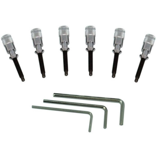 Floyd Rose FRHPCP Hollow Point Intonation System for Double Locking Tremolos, Chrome