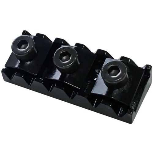 Floyd Rose FRNR10BP Locking Nut R10 for Original/Pro Tremolo Systems, Black (FRNR10BP)