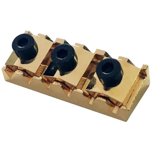 Floyd Rose FRNR4GP Locking Nut R4 for Original/Pro Tremolo Systems, Gold (FRNR4GP)