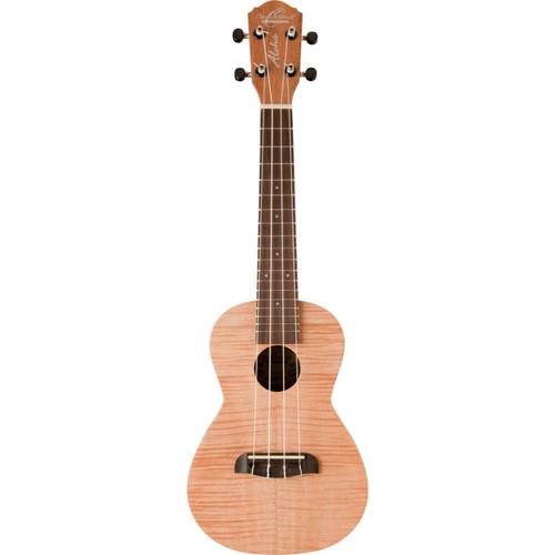 Oscar Schmidt OU2F Flame Mahogany Concert Size Acoustic Ukulele, Natural (OU2F)