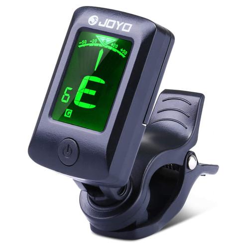Joyo JT-06 Mini Clip-on Chromatic Instrument Tuner, Black (JT-06)