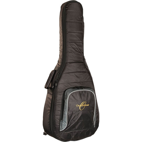 Oscar Schmidt OSGBD30 Deluxe Dreadnought Acoustic Guitar Gig Bag, Black (OSGBD30)