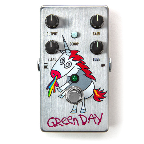 MXR DD25V3 Limited Edition Green Day Dookie Drive V3 Overdrive Effects Pedal (DD25V3)