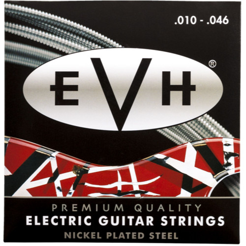 Eddie Van Halen EVH Premium Nickel Plated Steel Electric Guitar Strings, 10-46 (022-0150-146)