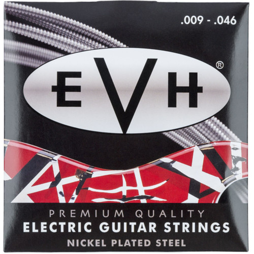 Eddie Van Halen EVH Premium Nickel Plated Steel Electric Guitar Strings, 9-46 (022-0150-046)