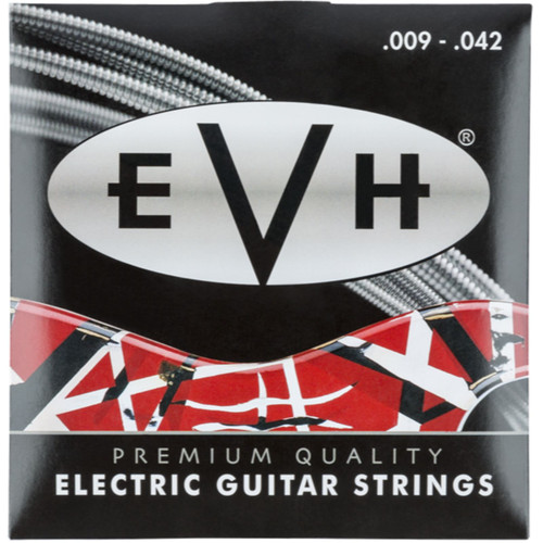 Eddie Van Halen EVH Premium Nickel Plated Steel Electric Guitar Strings, 9-42 (Copy of 022-0150-046)