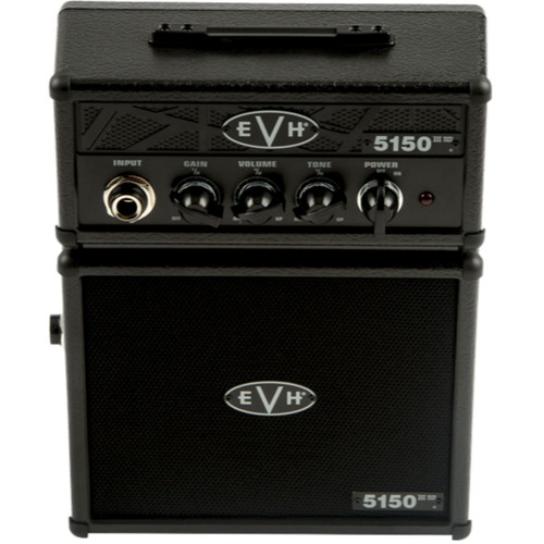 Eddie Van Halen EVH 5150 III Micro Stack Electric Guitar Amplifier, Stealth Black (022-1005-100)
