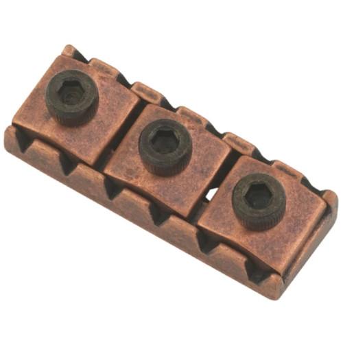 Floyd Rose FR1NR2AB 1000 Series/Special Locking Nut, R2, Antique Bronze