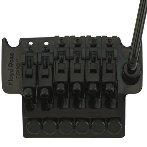 Floyd Rose FRTP200R3 Pro Series Tremolo System with R3 Nut, Black (FRTP200R3)