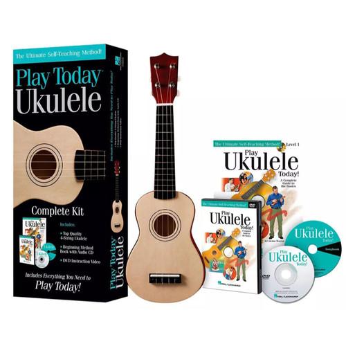 Hal Leonard Play Today Ukulele Complete Kit (650743)