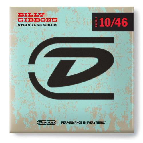 Dunlop RWN1046 Billy Gibbons' Signature String Lab Series Electric Guitar Strings, 10-46 (RWN1046)