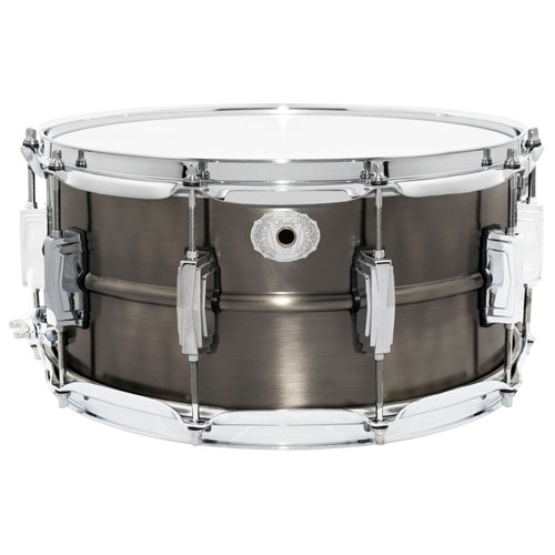 "Ludwig LC665 Pewter Copper Phonic 6.5""x 14"" Snare Drum with Imperial Lugs (LC665)"