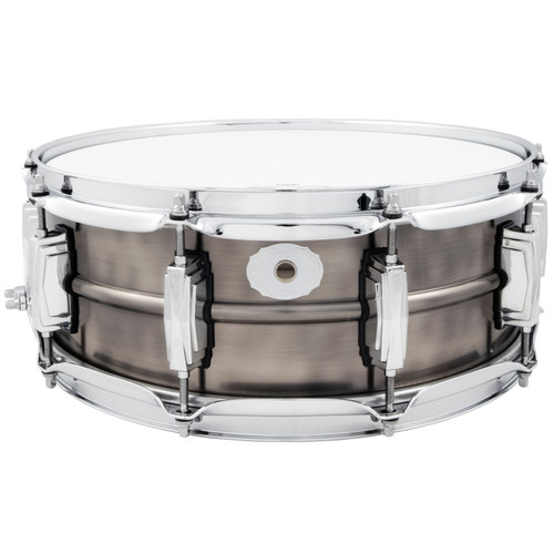"Ludwig LC664 Pewter Copper Phonic 5""x 14"" Snare Drum with Imperial Lugs (LC664)"