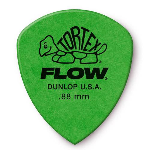 Dunlop 558P.88 Tortex Flow Standard .88mm Guitar Picks, 12 Pack (558P.88)