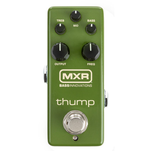 Dunlop MXR M281 Thump Bass Preamp Effects Pedal (MXR-M281)