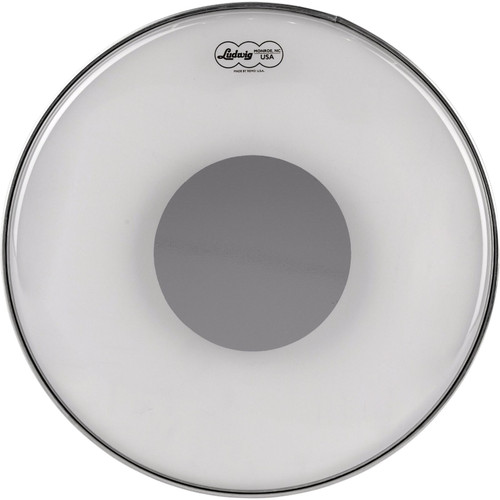 "Ludwig 14"" Clear Ambassador Silver Dot Snare Drum Batter Head by Remo, LW6114R (LW6114R)"